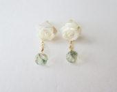 Shell&Green amethyst earrings
